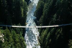 Affordable Private tour to Capilano Suspension Bridge