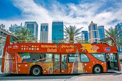 Dubai Hop-On Hop-Off Bus Tour + Premium Pass Options