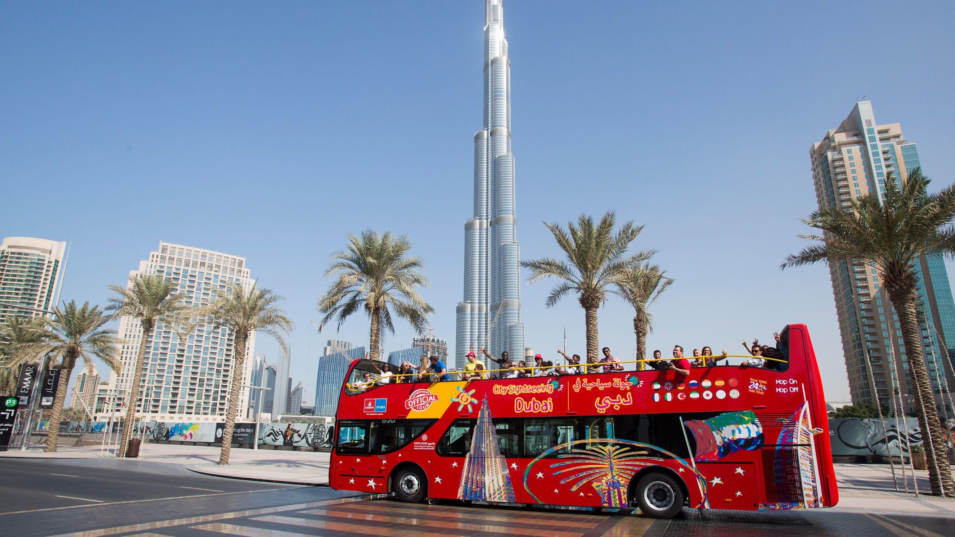 Dubai Hop-On Hop-Off Bus Tour