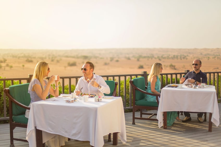 Luxury Conservation Drive with Breakfast at Al Maha Resort