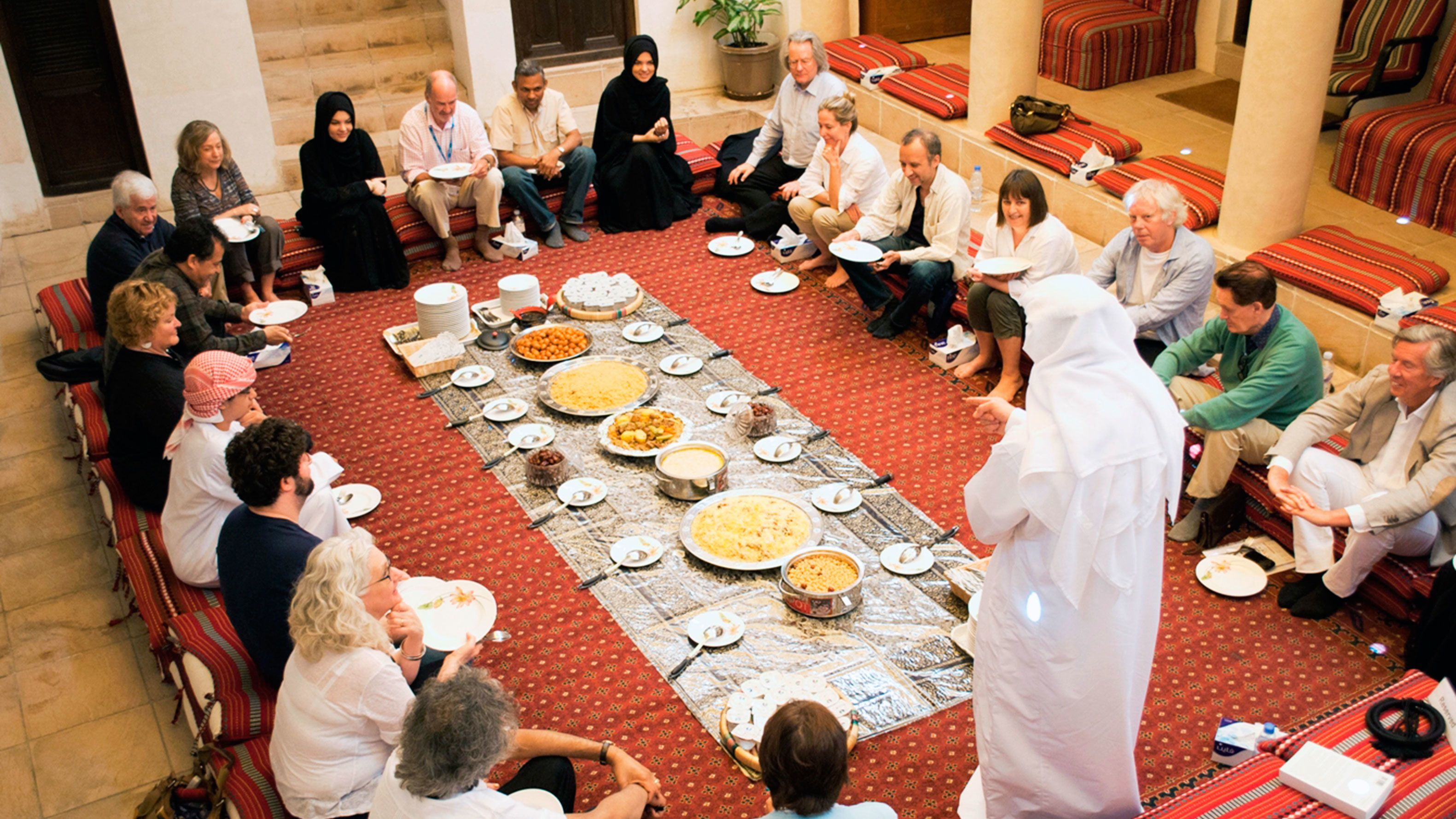 Emirati Meal Experience in the Al Fahidi Historic District