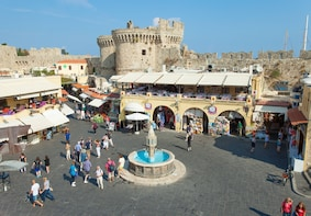 New Rhodes and Medieval town Guided tour