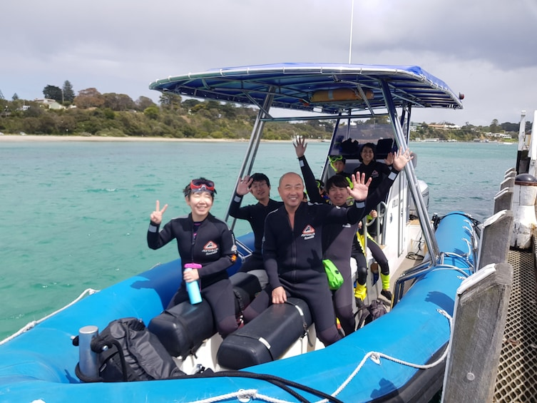 Show item 3 of 10. Popes Eye Marine Park Guided Snorkelling Boat Tour