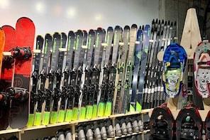 Ski Rentals at The Shipyards near Lonsdale Quay Market