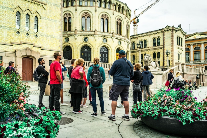 Show item 5 of 9. Oslo & Viking Ship Museum Private Walking Tour