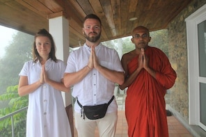 Private 3-Hour Buddhist Meditation Experience with Monk from Ella