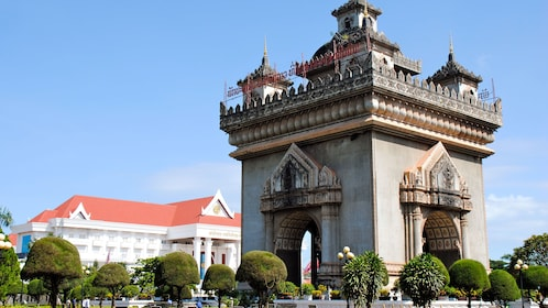Ornate building in Ho Chi Minh