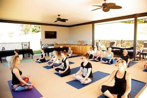 Yoga + Wine Experience