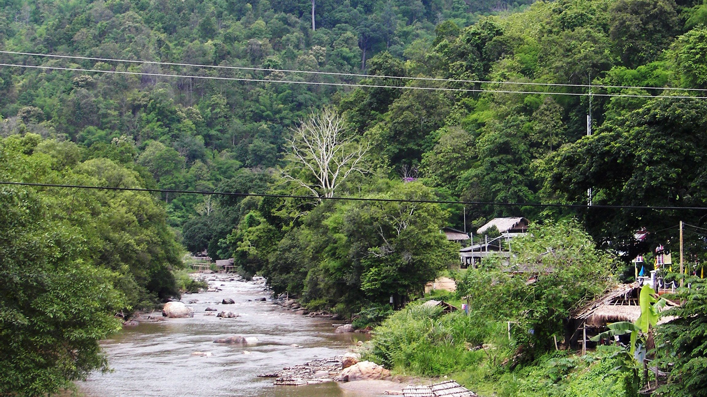 Scenic view of Chiang Mai's Mae Taeng district