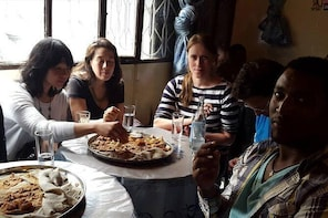 Food tasting tours, Enjera/Injera baking,coffee ceremony,Tej tasting