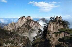 Sightseeing through Mt.Huangshan & Hongcun
