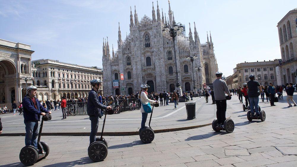 Visite de Milan en Segway