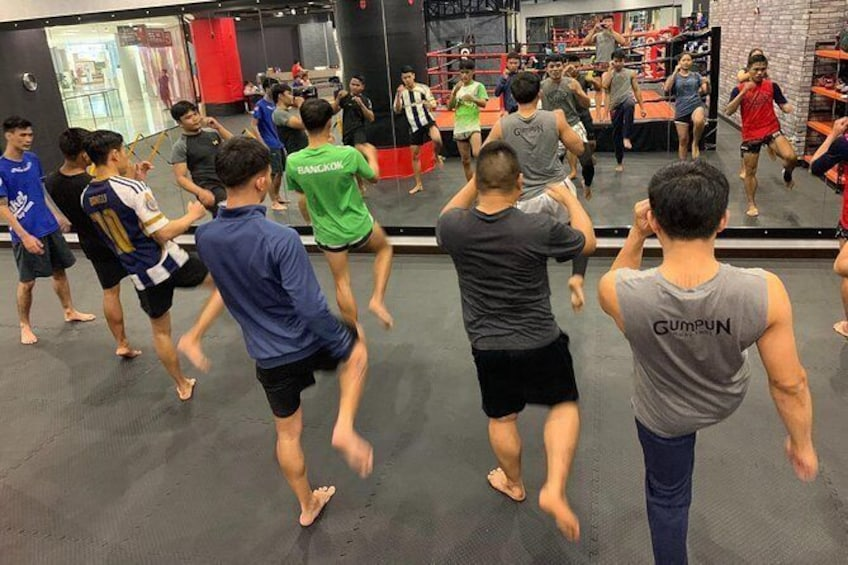 Show item 4 of 4. Muay Thai group class can me fun and challenge