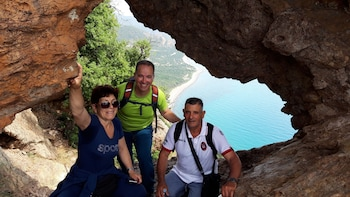 Hike to Cartucceddu - Sa Perda Stampada - Natural pools
