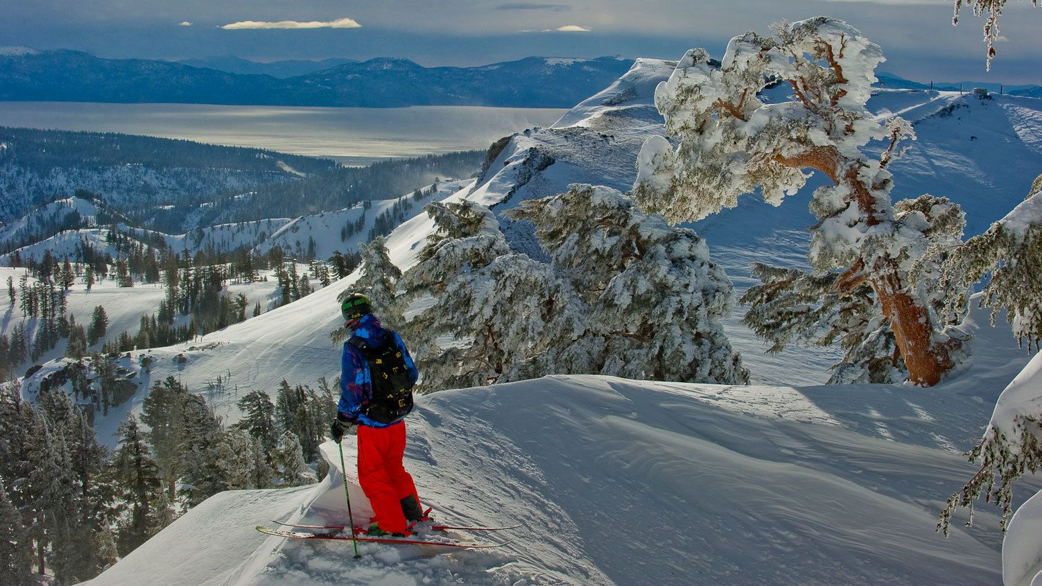 Mountain scene in Tahoe