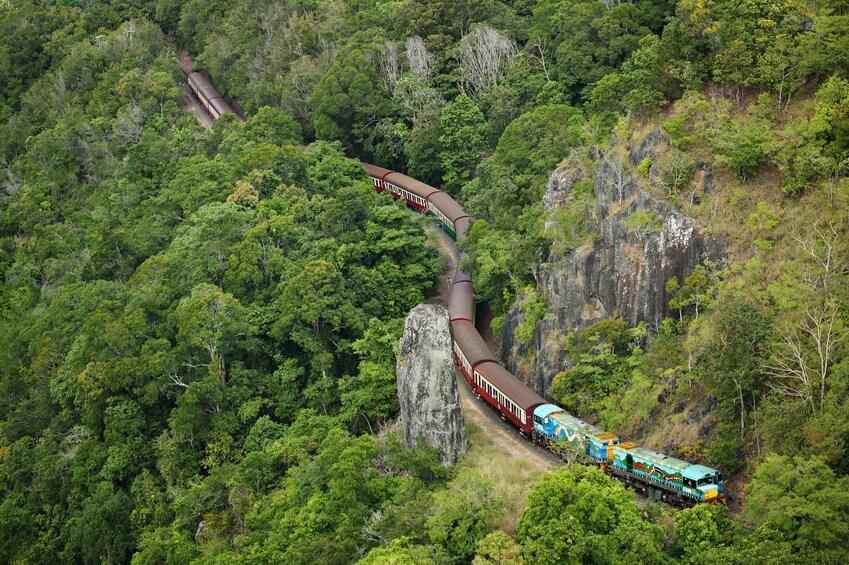 Army Duck Tour, Kuranda Scenic Railway & Skyrail Cableway