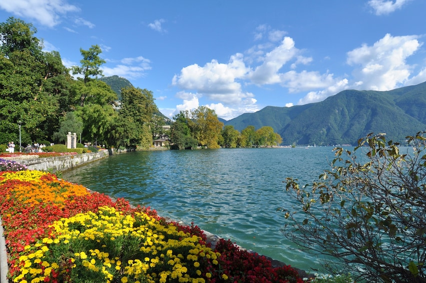 Show item 2 of 9. Lake Como with Bellagio & Lugano Day Trip