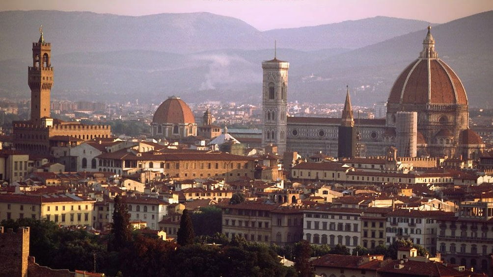 city view in milan