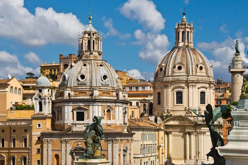 Rome Independent Day Trip by Train from Milan