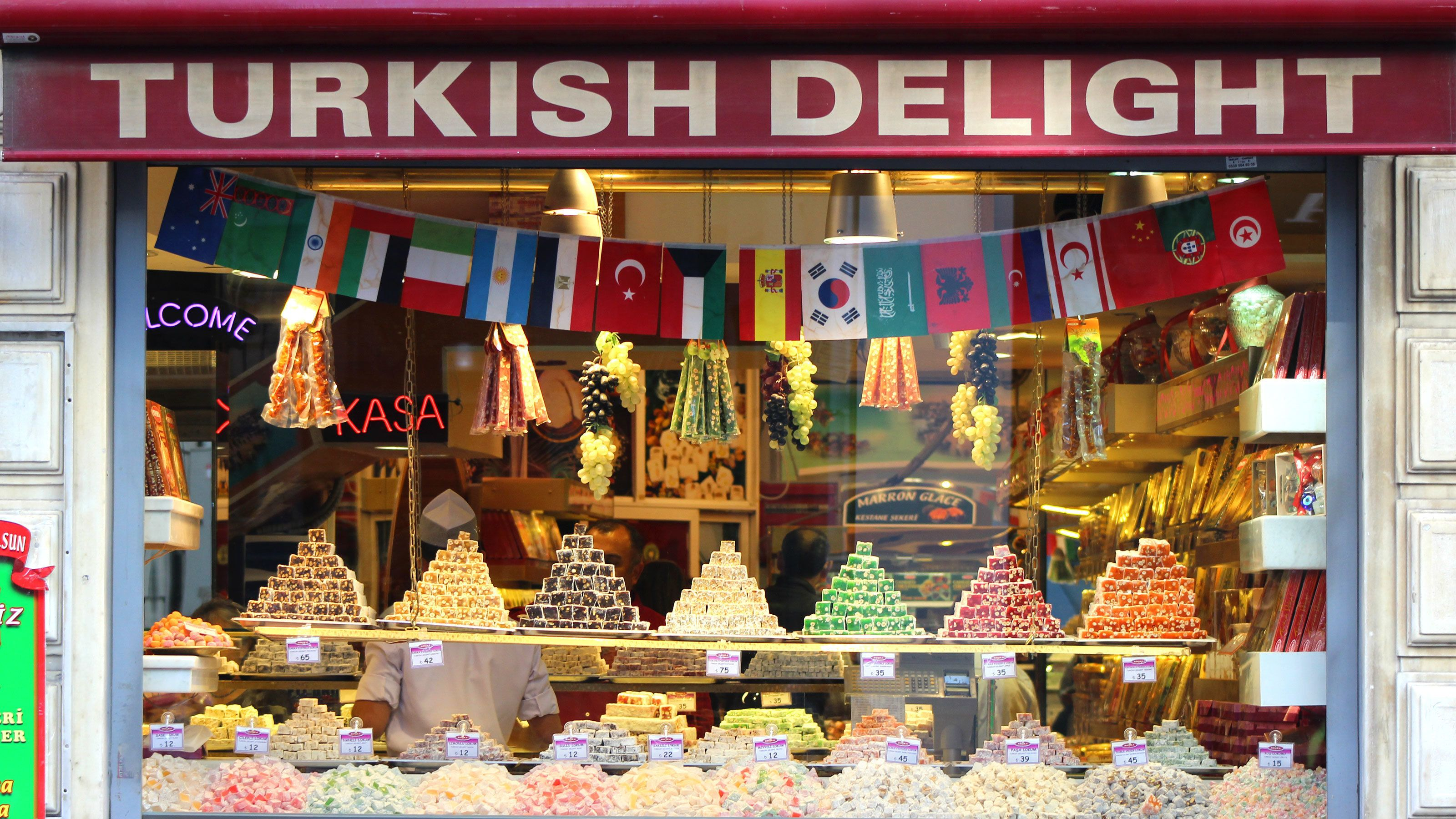 Turkish delights on display in Istanbul
