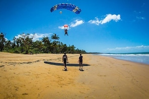 Beach Skydive from up to 15000ft over Mission Beach