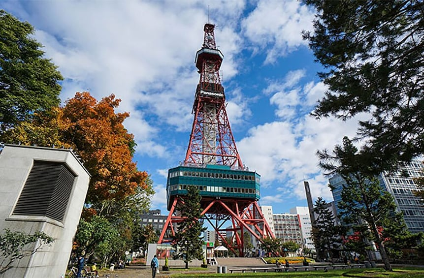 Show item 2 of 5. Sapporo TV Tower Observation Deck Ticket