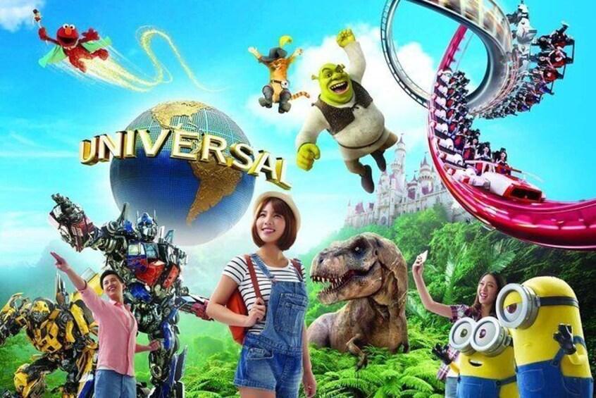 Show item 2 of 2. Universal Studios Singapore