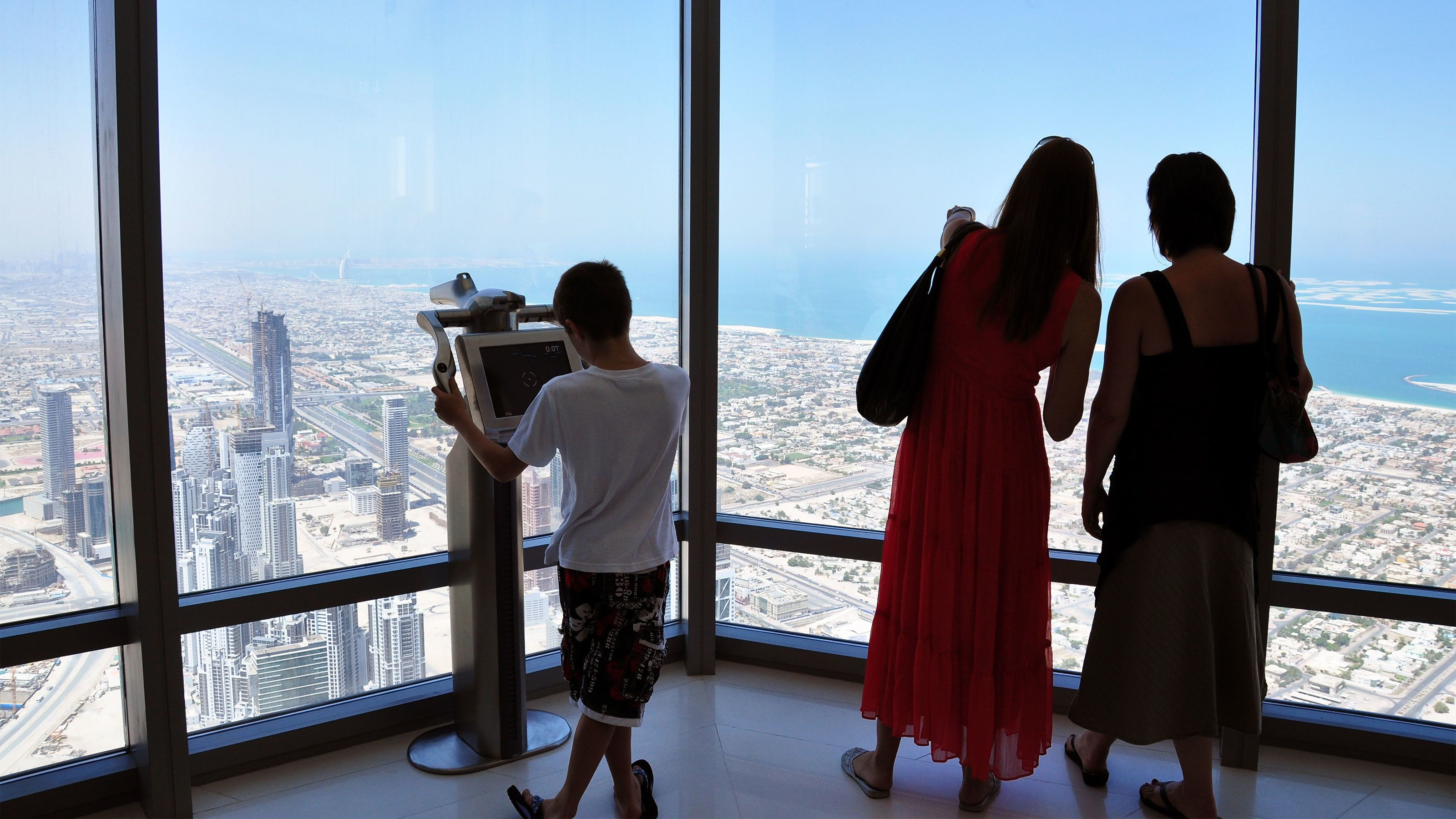 Burj Khalifa Tickets to 'At the Top' & Plato's Afternoon Tea