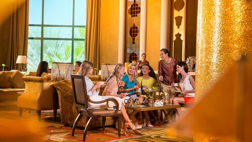 Tea room at Burj Khalifa in Dubai