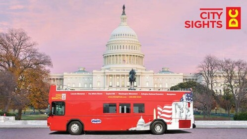 Washington DC Hop-On Hop-Off Bus Tour and Attractions Pass