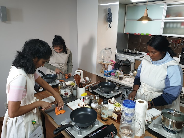 Show item 2 of 9. Korean Cooking Class & Traditional Dining in Haeundae, Busan
