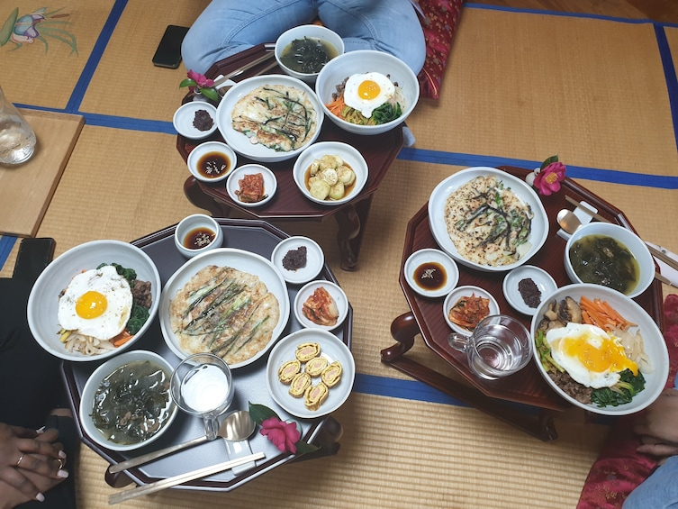 Show item 5 of 9. Korean Cooking Class & Traditional Dining in Haeundae, Busan