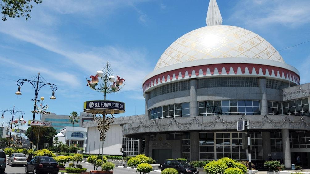Show item 2 of 5. View of the Royal Regalia Center in Bandar Seri Begawan
