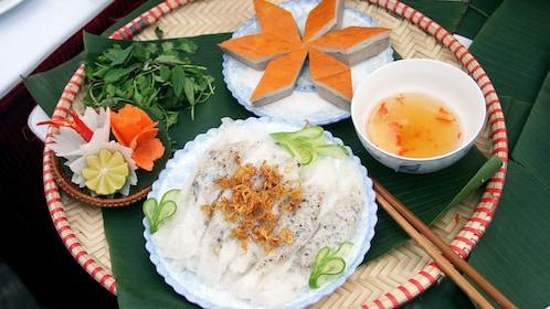 Local Vietnamese delicacies in Hanoi