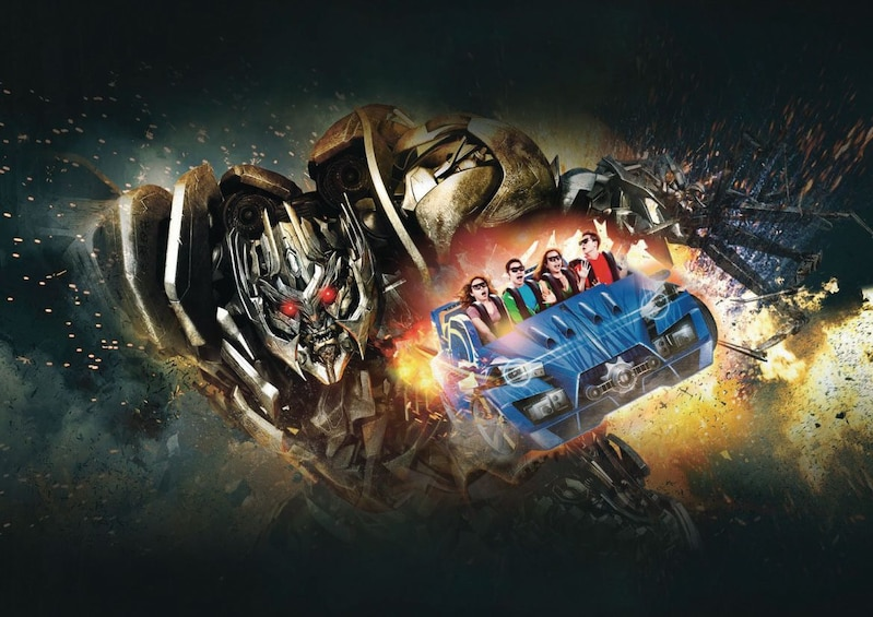 Show item 2 of 7. Universal Studios Singapore® 1-Day Ticket with Hotel Pickup