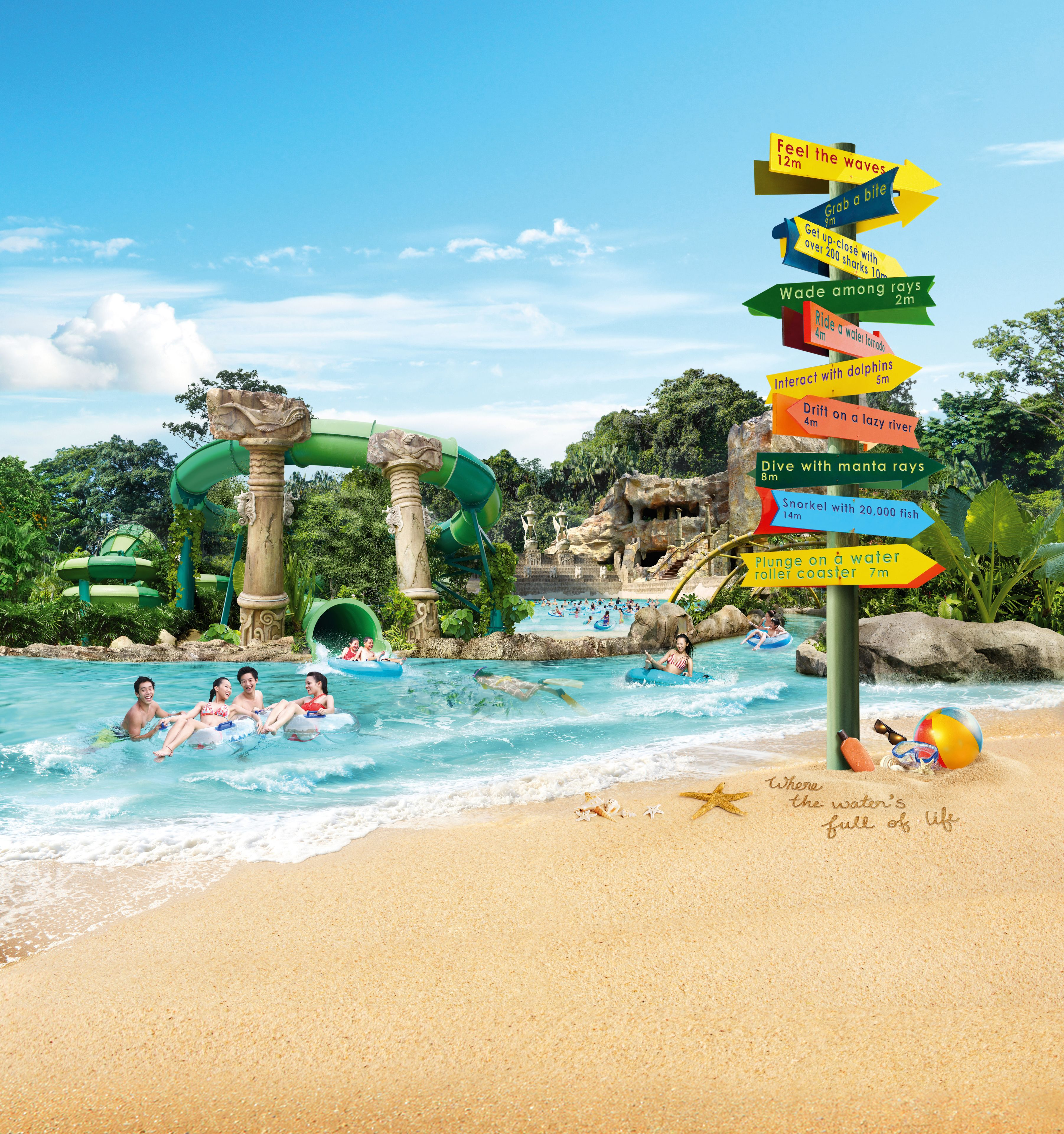 Adventure Cove Waterpark™ 1-Day Ticket with Hotel Pick-up