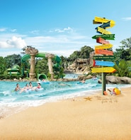 Adventure Cove WaterparkTM 1-Day Ticket with Hotel Pickup