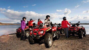 ATV Adventure & Golden Circle Afternoon Tour
