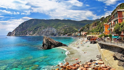Beach view near Florence Italy