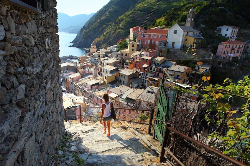 Show item 2 of 10. Cinque Terre Full-Day Tour from Florence