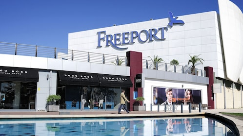 shopping at the Freeport Mall in Lisbon