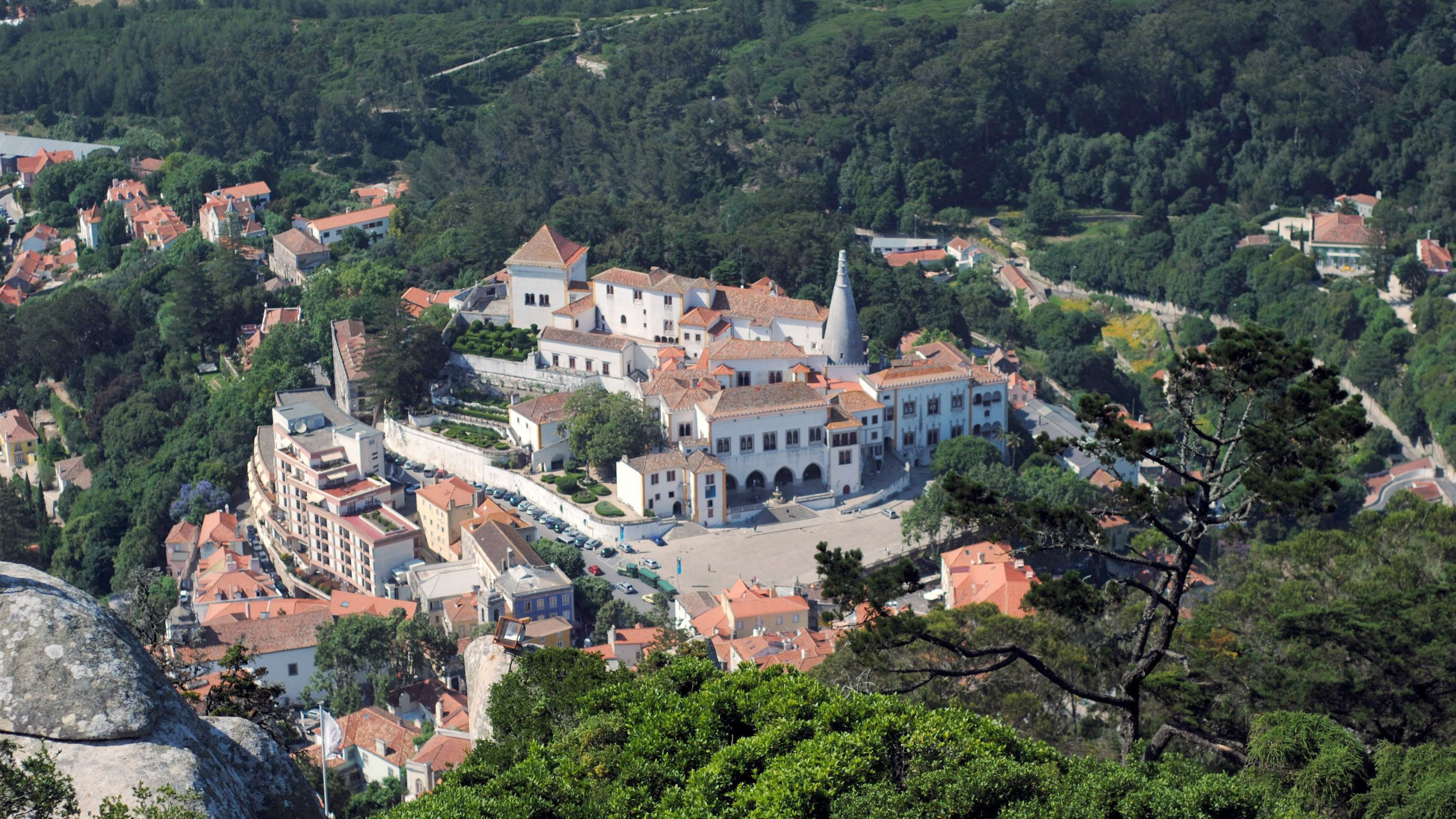 the Sintra National Palace in Portugal