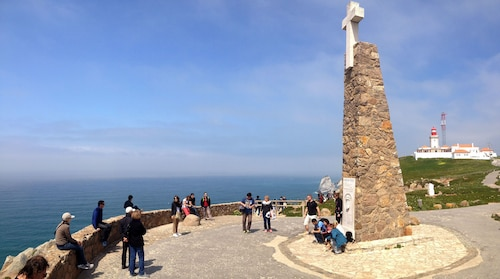 monument at Cabo De Roca in Portugal