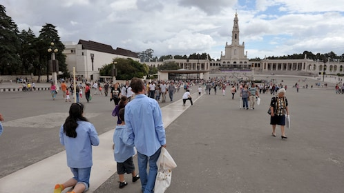 visiting the Sanctuary of Our Lady of Fátima in Portugal