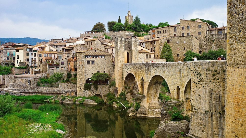 Show item 5 of 5. stone bridge by Castellfollit de la Roca in Barcelona