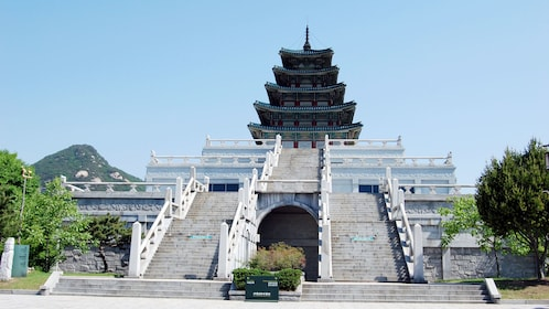 Pagoda style building in Seoul