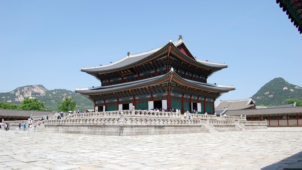 Show item 1 of 5. Pagoda style building in Seoul