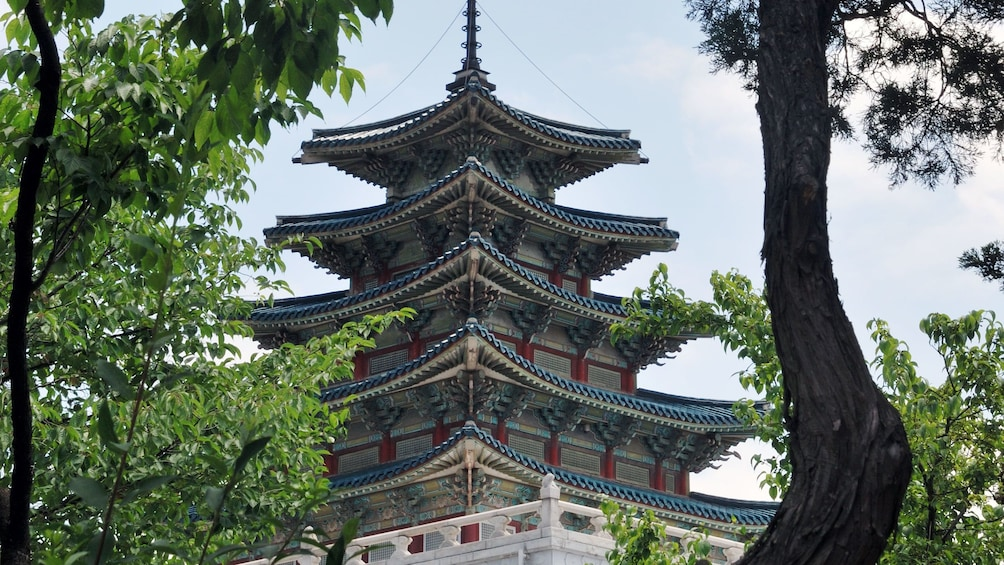 Show item 3 of 5. Pagoda style building in Seoul