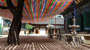 Gyeongbok Palace, Temple & Korean Folk Village Tour