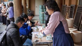Passeio na vila de cerâmica de Icheon